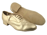 919101 57 Light Gold Perforated Leather