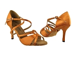 2737LEDSS Dark Tan Satin